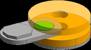 工件分度自转方式(G1)