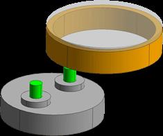 单端分度工作台方式(IT2) 模式1