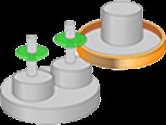 单端分度工作台方式(IT2) 模式3