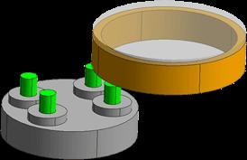 单端分度工作台方式(IT4) 模式1