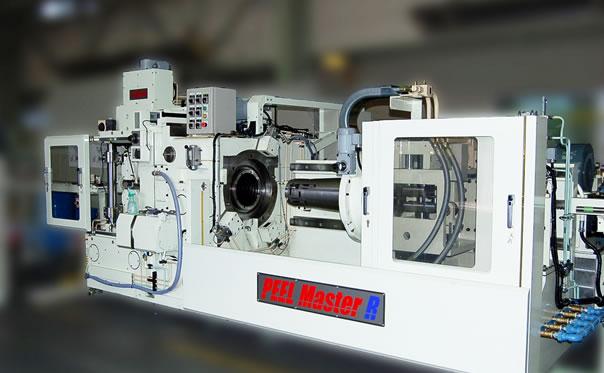 Bar peeling machine