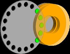 横型ロータリーキャリア方式(C)