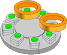 片面ロータリーインデックステーブル方式(IT8)